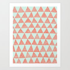 try-angles Art Print