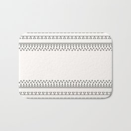 Tribal Pattern of Balondo Bath Mat