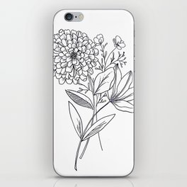 Zinnia iPhone Skin