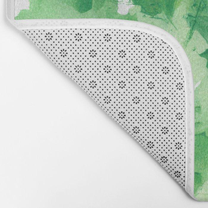 Leaves Dynamics Bath Mat