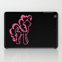 pie iPad Cases featuring Pinky Pie by Tanya Thomas