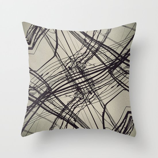 unknow what i know Throw Pillow