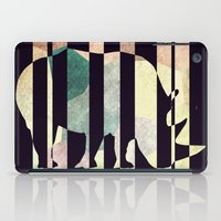 rhino iPad Cases featuring Rhino by Yasmina Baggili