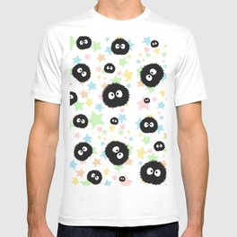 Soot Sprite with stars T-shirt