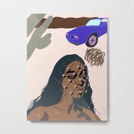 Solange Metal Print