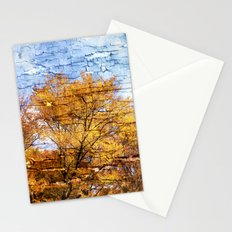 An autumn day Stationery Cards