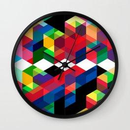 Funky Paradise Wall Clock