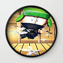 Ninja Kyle Wall Clock