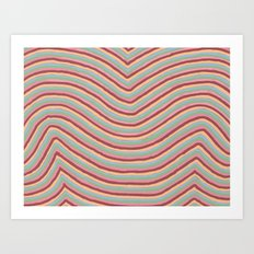 Colory Lines Art Print