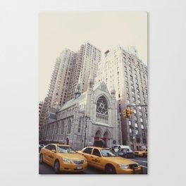 rush::nyc Canvas Print