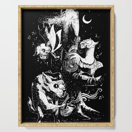 Children of the Night Serving Tray