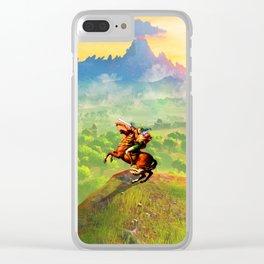 zelda link Clear iPhone Case