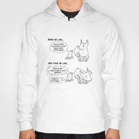 napoleon Hoodies featuring Napoleon Complex by Bird gifts for bird folks