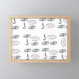 Beauty in Disorder Pattern Framed Mini Art Print