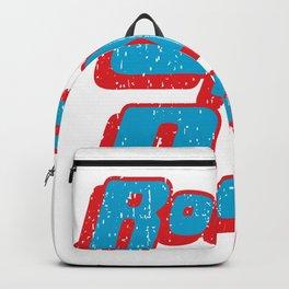 Rock not dead print Backpack