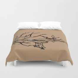Fall Branches Duvet Cover