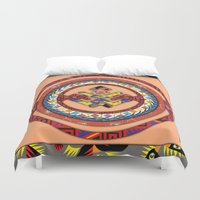 totem Duvet Covers featuring Totem by Robin Curtiss