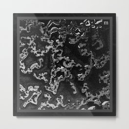 """foulard n°5"" - mathéo Metal Print"