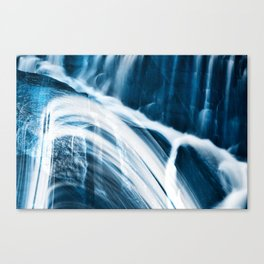 Blue Banshee Falls Canvas Print