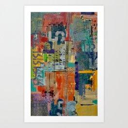 Conversing in Color Art Print