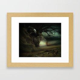 Hope in Darkest Places Framed Art Print