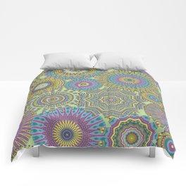 Kaleidoscopic-Jardin colorway Comforters