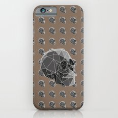 Geometric skulls iPhone 6s Slim Case