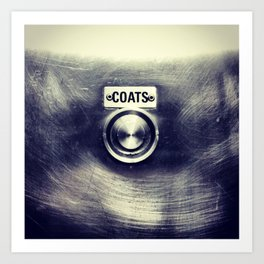 COATS Art Print