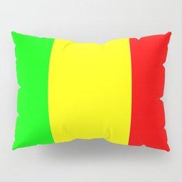 Flag of mali 2 -mali,malien,malienne,malian,bamako,tombouctou,timbuktu,sikasso,mopti,mande Pillow Sham