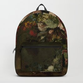 Stillife with flowers Harmanus Uppink 1789 Backpack