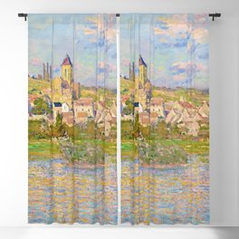 Vétheuil by Claude Monet (1879) Blackout Curtain