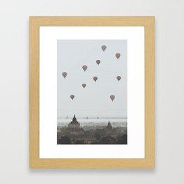 Bagan VI Framed Art Print