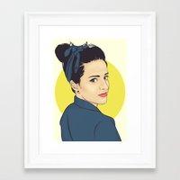 lipstick Framed Art Prints featuring Lipstick by FalcaoLucas