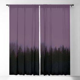 Alaska Fog 0388, EggPlant Blackout Curtain