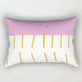 AZTEC BABE - Modern Pink Furniture Rectangular Pillow