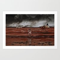 seasons in the abyss. Art Print