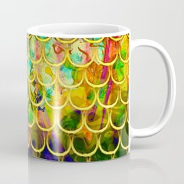 Scales Edged in Gold Coffee Mug