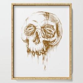 Skull Coffee 1 Serving Tray