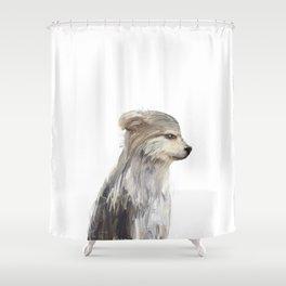 littlest wolf Shower Curtain