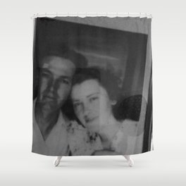 Paul and Mary Lou great grandparents Shower Curtain
