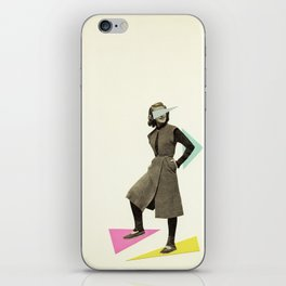 Shapely Figure iPhone Skin