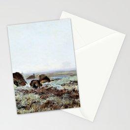 Jozef Chelmonski - Bustards - Digital Remastered Edition Stationery Cards