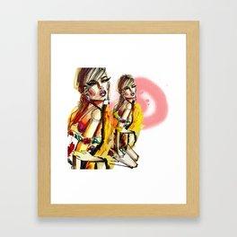 Move like Jagger Framed Art Print