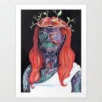 Portraits of the Universe: Wisdom Art Print