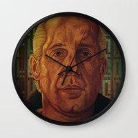fargo Wall Clocks featuring Fargo by David Amblard