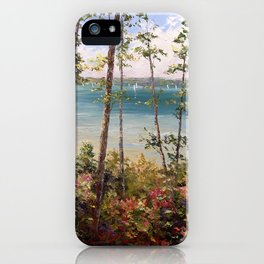 Walloon View iPhone Case