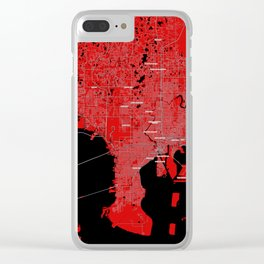 FanMap   NFL Tampa Bay #01 Clear iPhone Case
