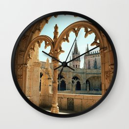 MOSTEIRO DOS JERONIMOS, Lisbon - Portugal.  Analog 6x6 Kodak Ektar 100 (RR158) Wall Clock