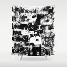 analogue legends II Shower Curtain
