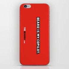 BEARD IS MY COPILOT.  iPhone & iPod Skin